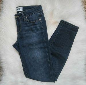 PAIGE Verdugo Ankle Jeans Size 25.